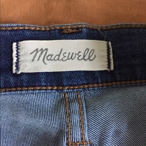 Madewell Jeans - Made well high rise jeans